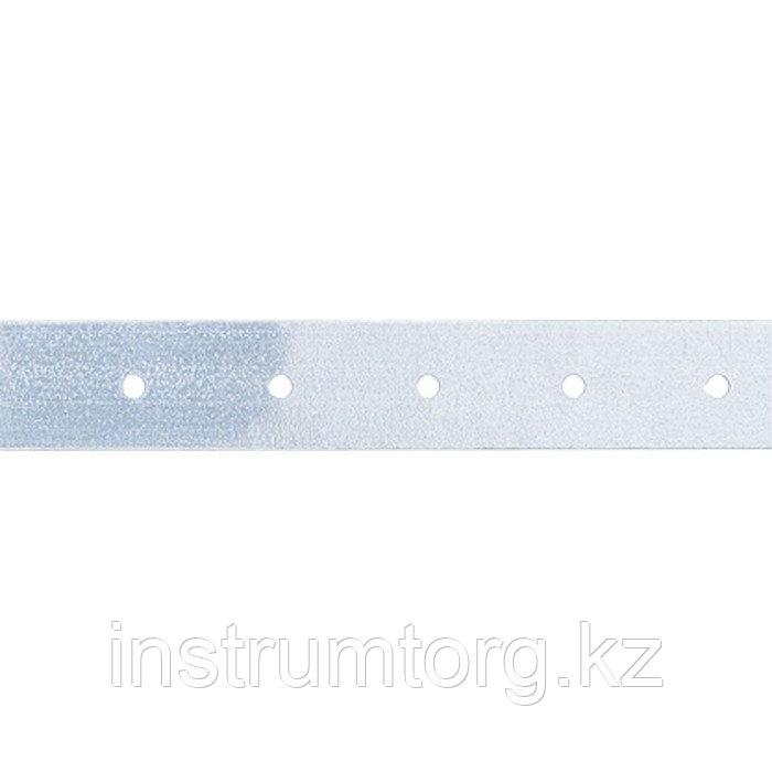 Лента тарная, 0,55 мм, LT 2 см х 25 м, цинк, Россия// Сибртех