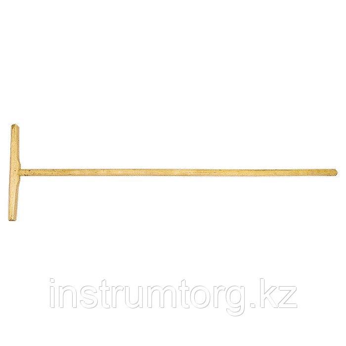 Швабра деревянная для мытья полов L-1,2 м// Россия