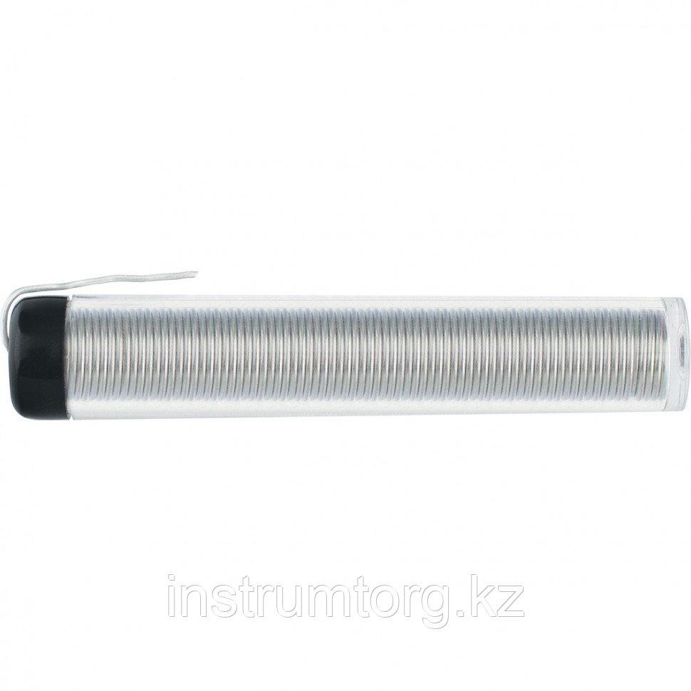 Припой Sn60Pb40, D 1 мм, 10 г, в пластмассовой тубе// Sparta