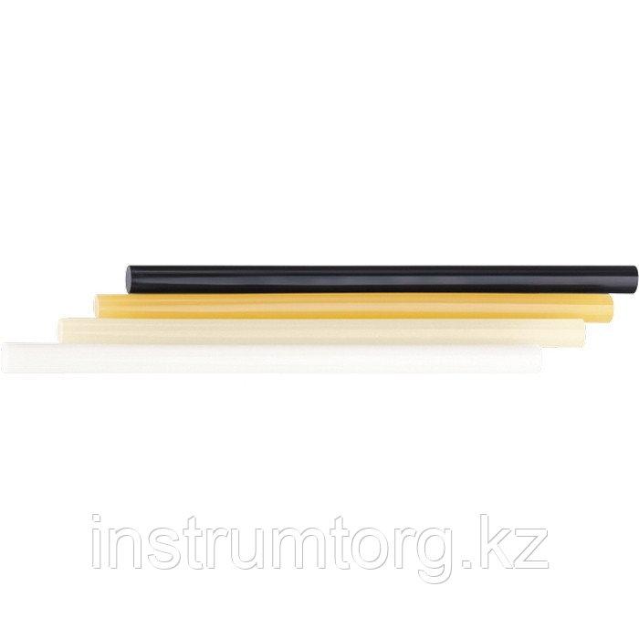 Стержни клеевые, 11 x 200 мм, черные, 12 шт.// Matrix