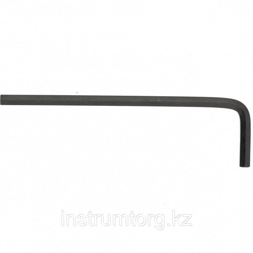 Ключ имбусовый HEX, 5 мм, CrV// Matrix