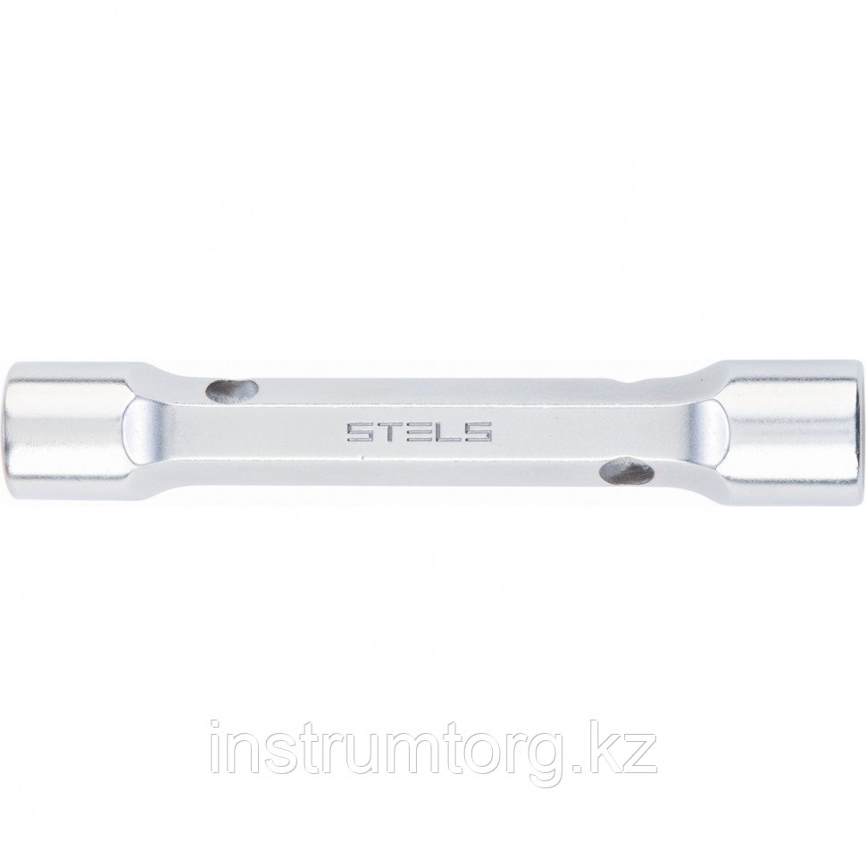 Ключ трубка торцевой усиленный, 10х12 мм, CrV// Stels
