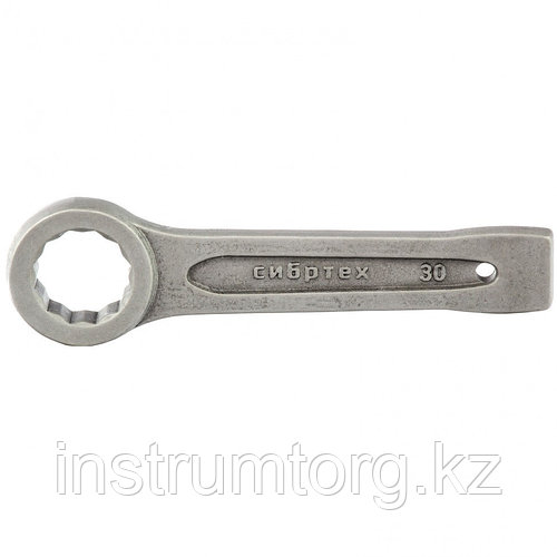 Ключ кольцевой ударный 30 мм// Сибртех