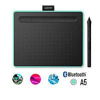 Графический планшет Wacom Intuos Medium Bluetooth (CTL-6100WLE-N) Зелёный, фото 1