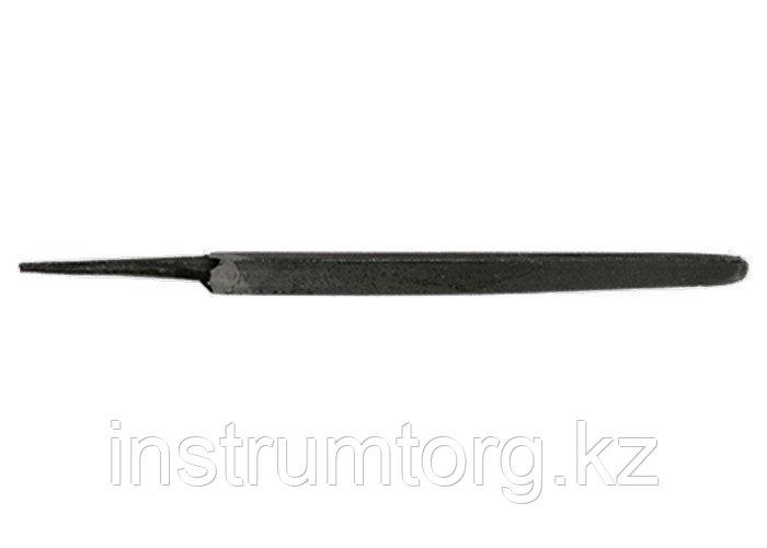 Напильник, 300 мм, №1, трехгранный (Металлист)// Россия