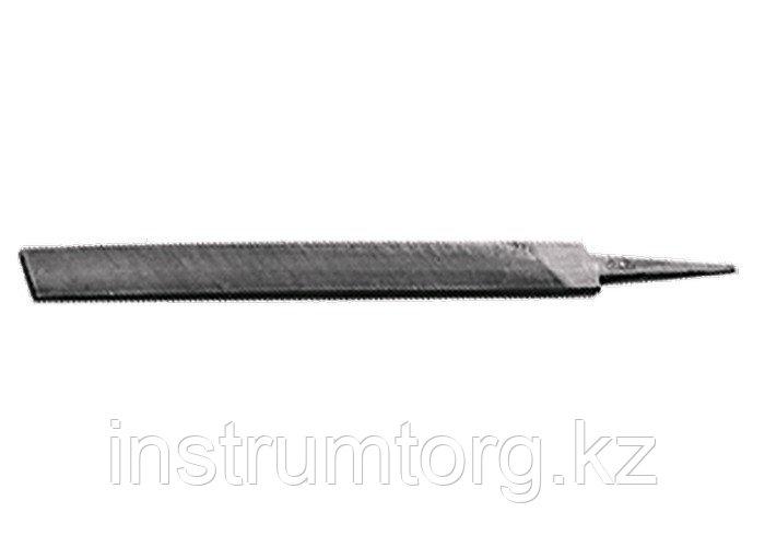 Напильник, 250 мм, №2, плоский (Металлист)// Россия