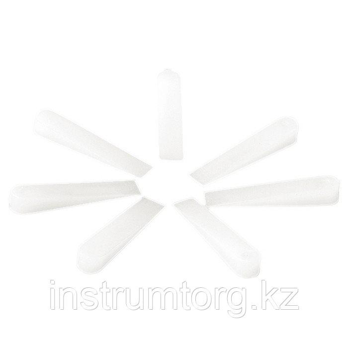 Клинья, 30х6х5 мм, для кладки плитки, 200 шт.// Sparta