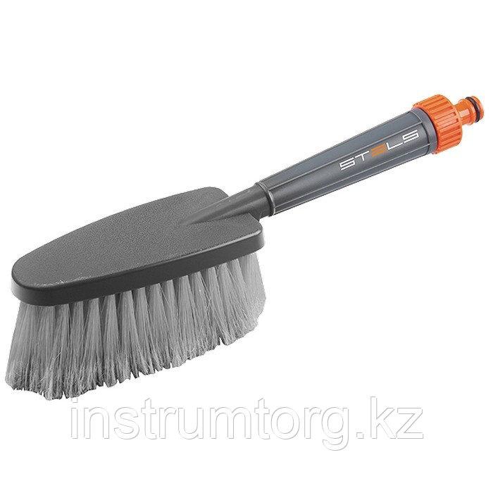 Щетка для мытья автомобиля с подачей воды// Stels