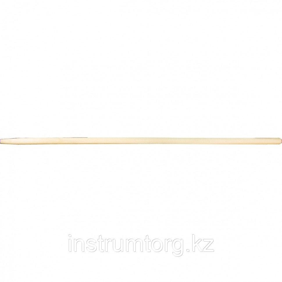 Черенок для лопат, вил, 40 х 1200 мм, в/с// Россия