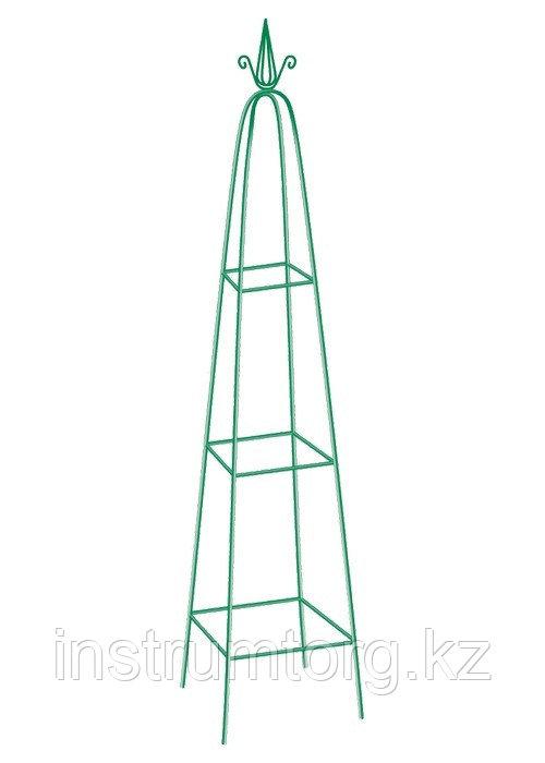 Пирамида садовая декоративная для вьющихся растений, 198 х 33 см, пирамида// PALISAD