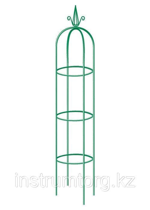 Колонна садовая декоративная для вьющихся растений, 205 х 38 см, круглая// PALISAD