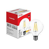 Филаментная лампа Toshiba G95 7W (60W) 2700K 806lm E27 Dim Тёплый