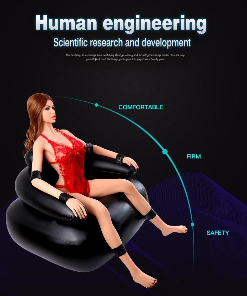 Надувное кресло для БДСМ.