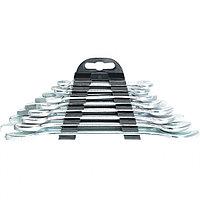 Набор ключей рожковых, 6 х 22 мм, 8 шт., хромированные// Sparta