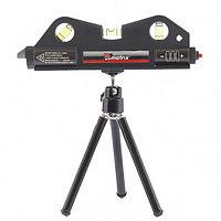 Уровень лазерный, 170 мм, 150 мм штатив, 3 глазка// Matrix, фото 1