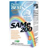 SAM-е (S-Аденозил метионин), CAMe, 200 мг, 60 таблеток