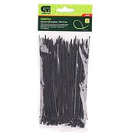 Хомуты, 150 х 2,5 мм, пластиковые, черные, 100 шт.// Сибртех, фото 1