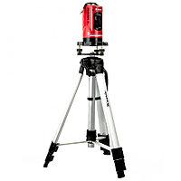 Уровень лазерный, 150 мм, штатив 1150 мм, самовырав., набор в пласт. кейсе// Matrix