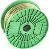 Трос металлополимерный прозрачный ПР-3.0, (3,0мм толщина, катушка 200м.п.), Россия// Сибртех