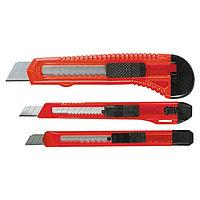 Набор ножей, выдвижные лезвия, 9-9-18 мм, 3 шт.// Matrix