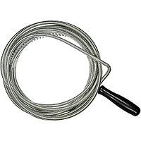 Трос для прочистки труб, L - 5 м, D - 6 мм// Сибртех