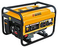 Генератор бензиновый GE 2500, 2,5 кВт, 220В/50Гц, 15 л, ручной старт// DENZEL