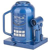 Домкрат гидравлический бутылочный телескопический, 8 т, h подъема 170–430 мм// Stels