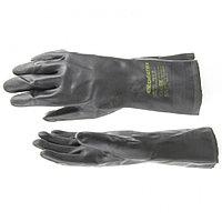Перчатки резиновые сантехнические, XL// Сибртех