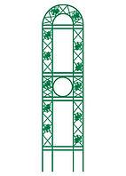 Панель садовая декоративная для вьющихся растений, 139 х 35 см, фронтальная// Palisad