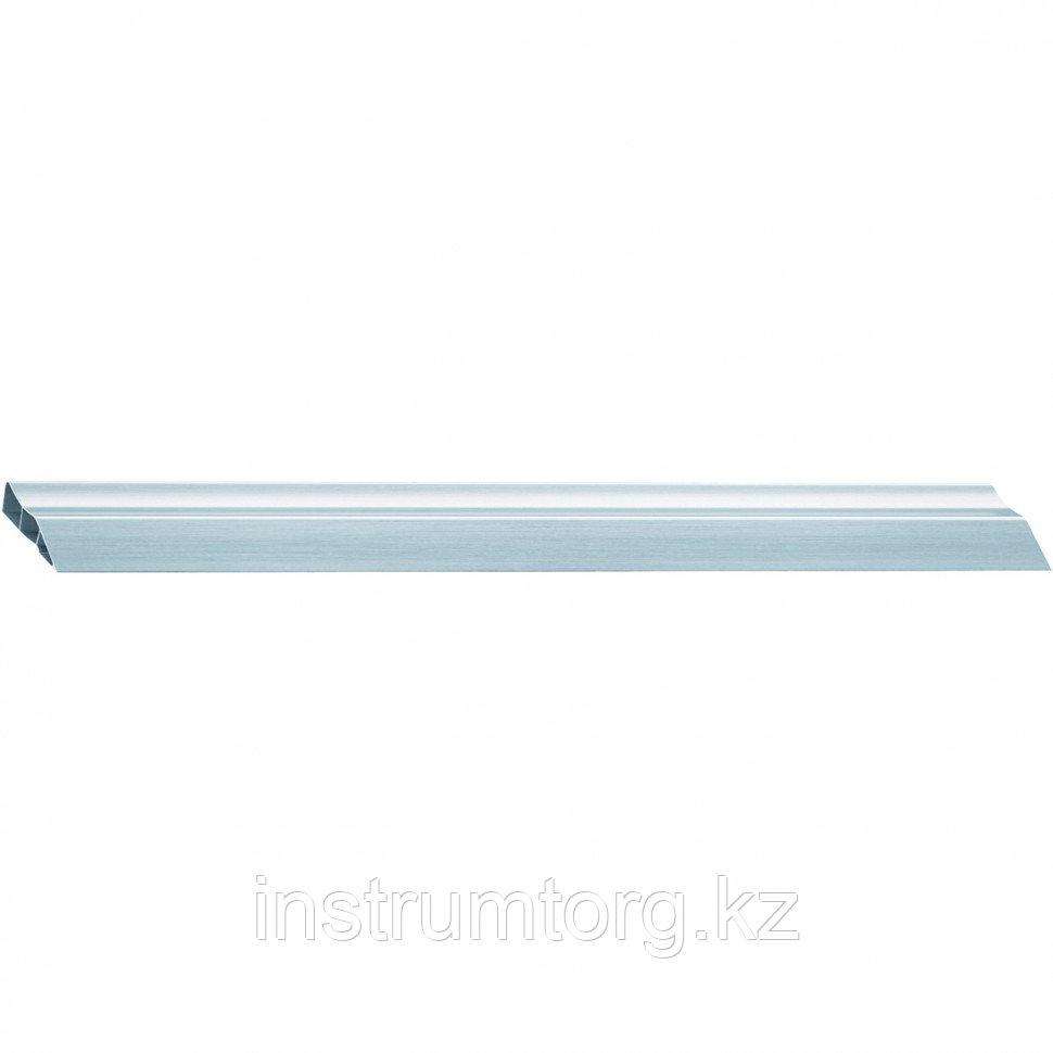 Правило алюминиевое 2 ребра жесткости, эргономичное, L-1,0 м Россия// Барс