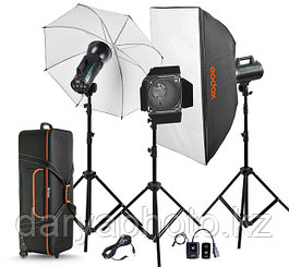 Студийный свет(комплект) Godox GS-300 -D импульсный