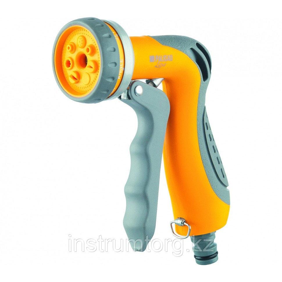 Пистолет-распылитель, 7-режимный, эргономичная рукоятка // PALISAD LUXE