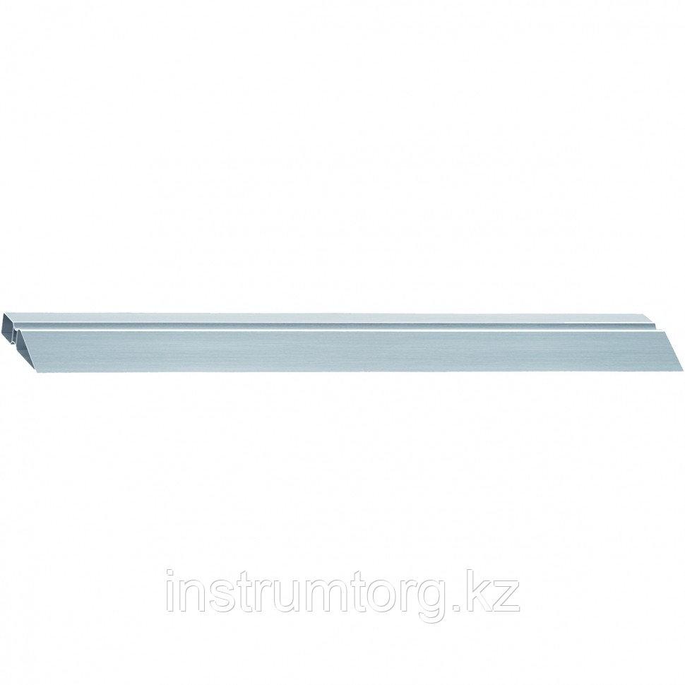 Правило алюминиевое, двойной захват, 2 ребра жесткости, L-1,5 м// MATRIX