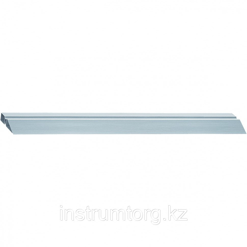 Правило алюминиевое, двойной захват, 2 ребра жесткости, L-2,0 м// MATRIX