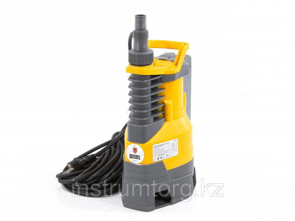 Дренажный насос DPХ950, 950 Вт, подъем 8,5 м, 15500 л/ч// Denzel