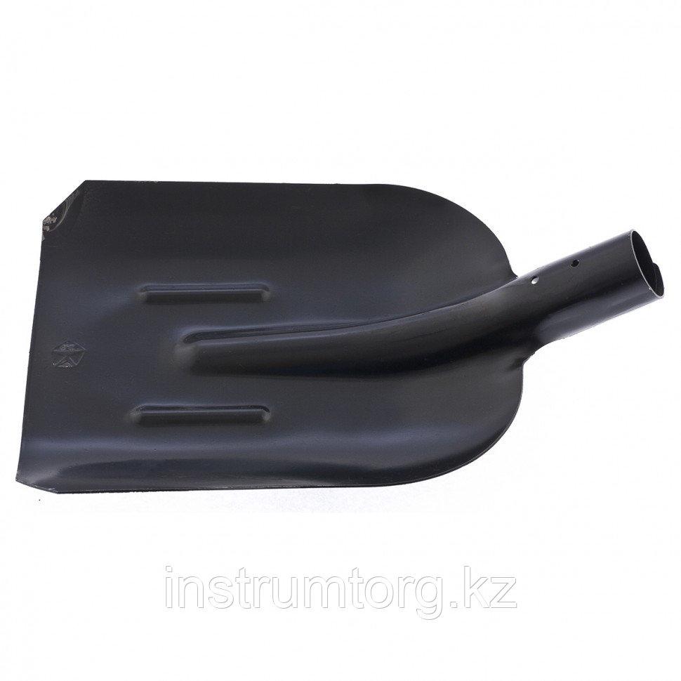 Лопата совковая с ребрами жесткости, упрочненная сталь Ст5, без черенка//СИБРТЕХ  Россия