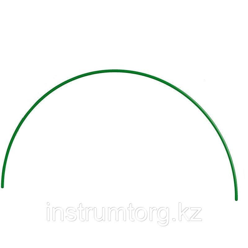Дуга пластиковая для парника 80 х 90 см, d12 мм, зеленая// Palisad