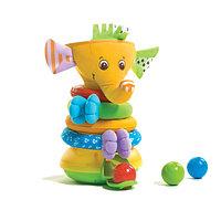 """Музыкальная пирамидка с шариками """"Слоник"""", фото 1"""