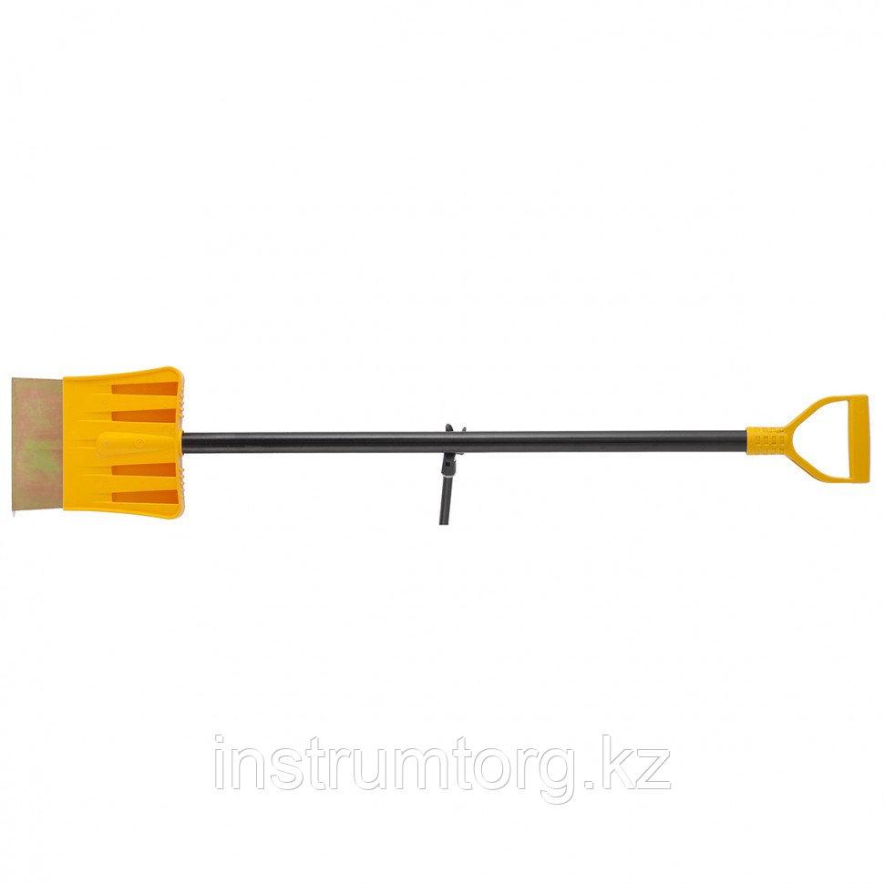 Ледоруб-скребок PROFI 200 мм, 2,5 кг, металлический черенок, LUXE// Palisad