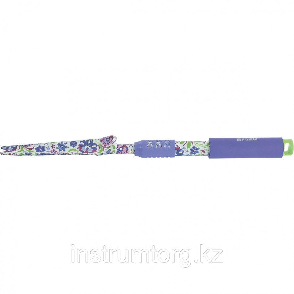 Корнеудалитель, 480 мм, стальной, удлиненная рукоятка, FLOWER MINT// Palisad