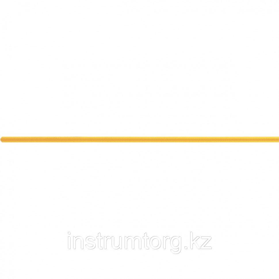 Черенок деревянный, 25х1300 мм, желтый лак, 1 сорт// Россия