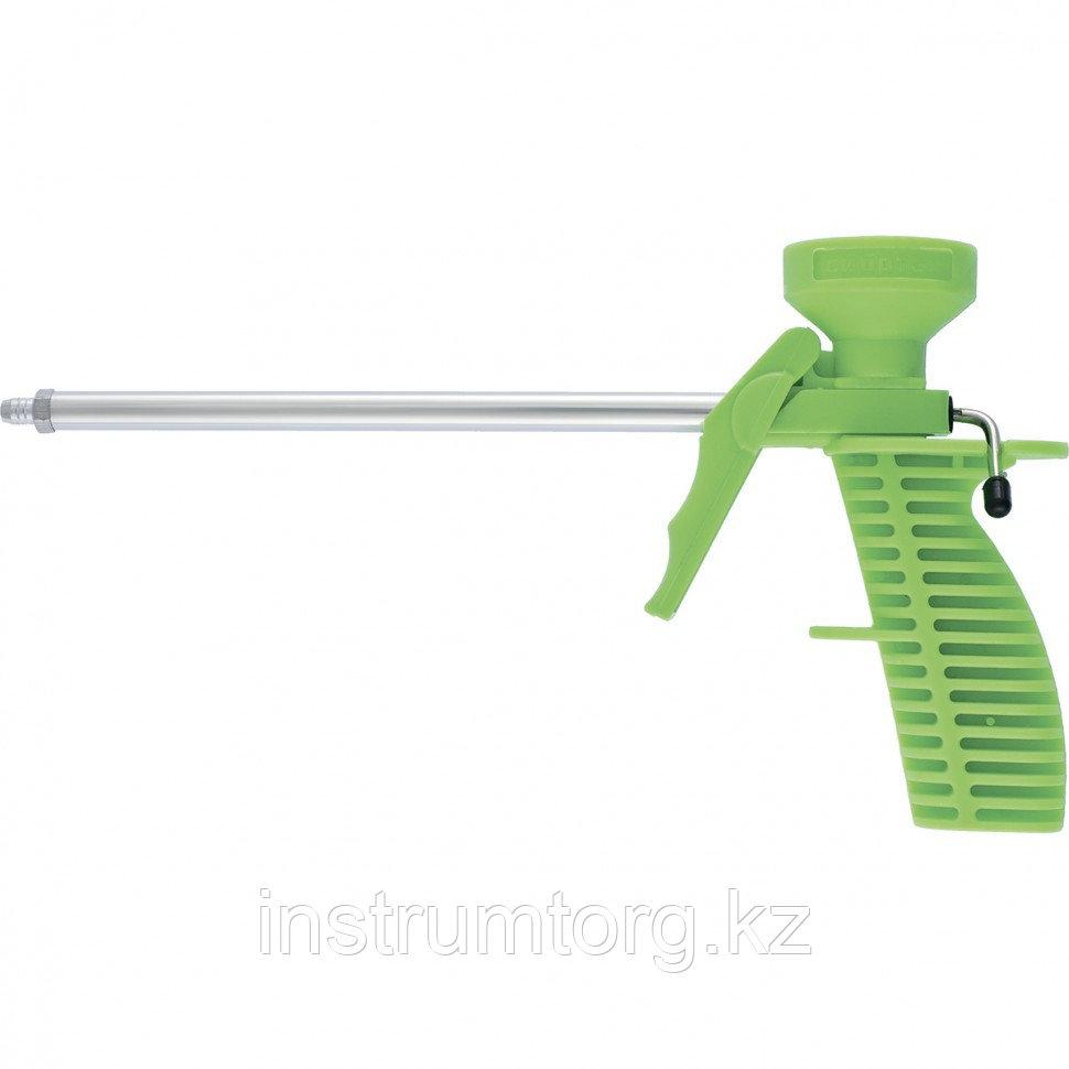 Пистолет для монтажной пены, пластмассовый корпус// Сибртех