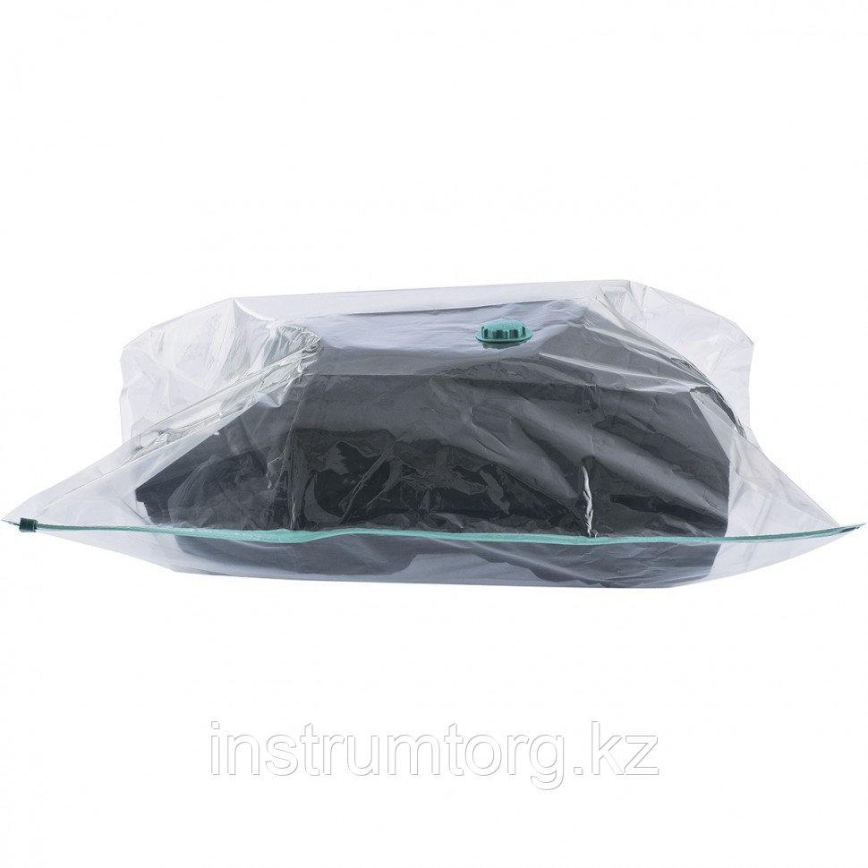 Вакуумный пакет для упаковки и хранения вещей 70х100 см// Elfe - фото 4