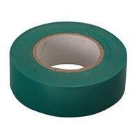 Изолента ПВХ, 15 мм х 10 м, зеленая// Сибртех