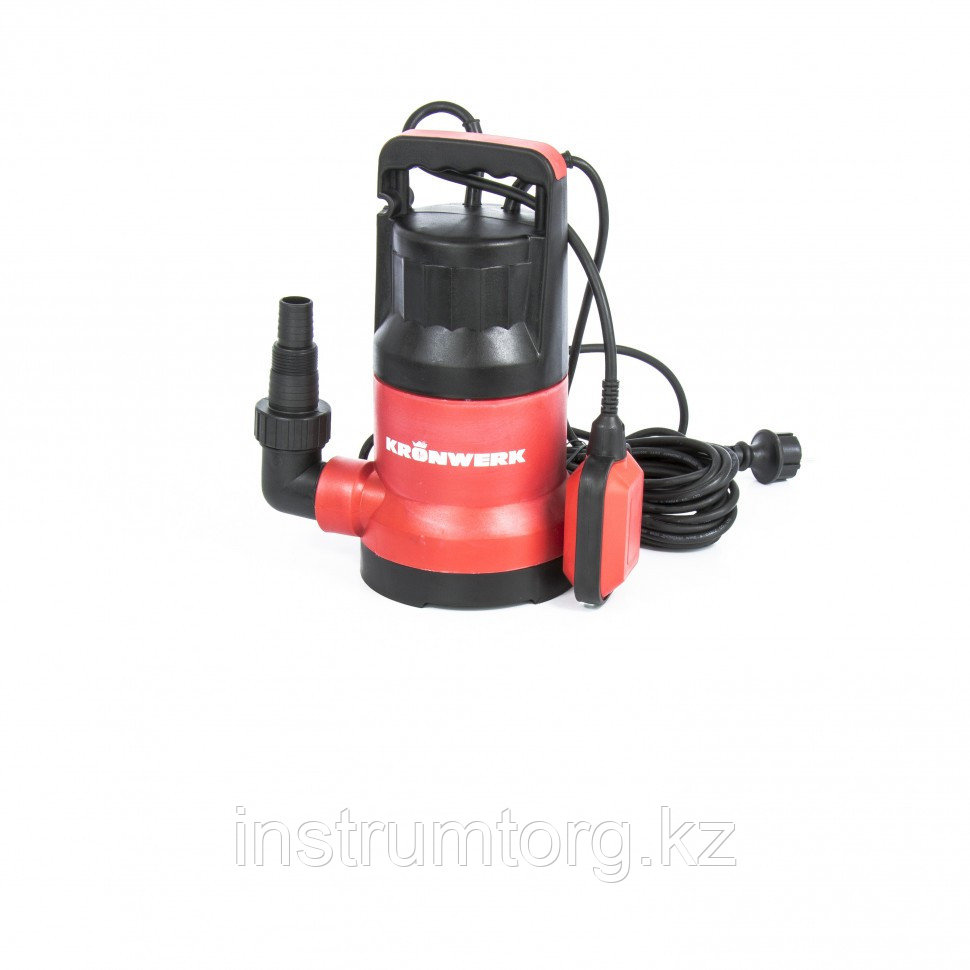 Дренажный насос KP300, 300 Вт, подъем 6м, 7000 л/ч// Kronwerk