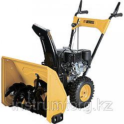 Бензиновая снегоуборочная машина GSB-53, мощность 6,5 л.с., ручной старт// Denzel