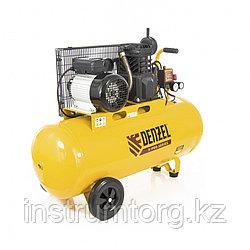 Компрессор воздушный PC 2/100-400, Х-PRO, ременный, 2.3 кВт, 400 л/мин, 100 л, 10 бар// DENZEL
