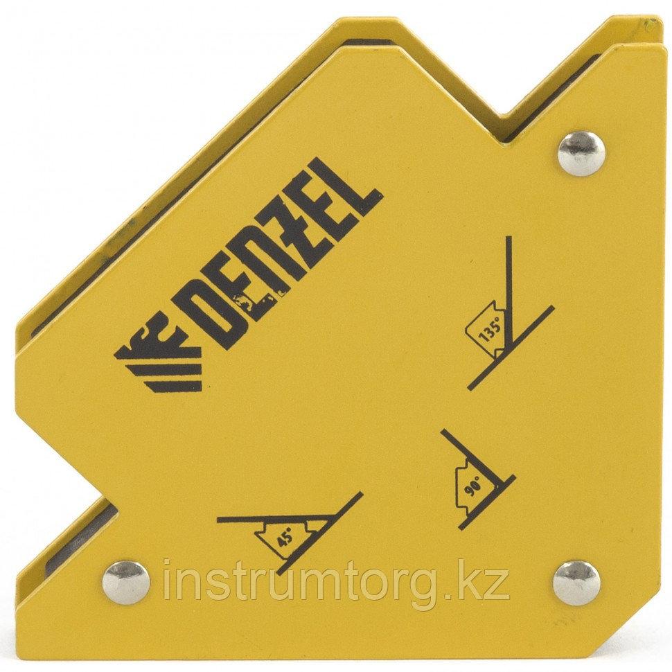 Фиксатор магнитный для сварочных работ усилие 25 LB// Denzel
