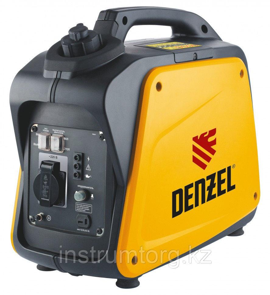 """Генератор инверторный """"Denzel"""" GT-1300i X-Pro 1.3 кВт, 220 В, бак 3 л, ручной старт"""