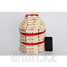 Деревянный конструктор- Брусочки, 140 деталей, фото 3